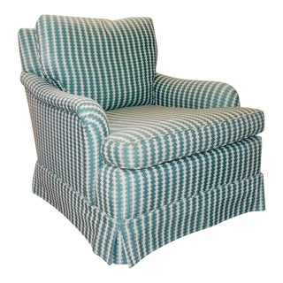 Baker Furniture Upholstered Living Room Armchair
