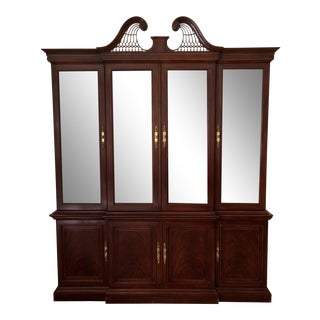 Drexel Heritage Devoncourt China Cabinet For Sale