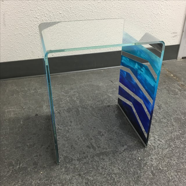 "Tony Sosa for Glassisimo ""Ocean Feel"" Side Table For Sale - Image 5 of 10"