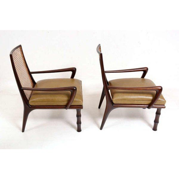 Mexican Modernist Lounge Chairs Attributed to Eugenio Escudero For Sale - Image 9 of 9