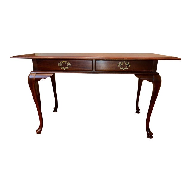 Queen Anne Reproduction Writing Desk For Sale