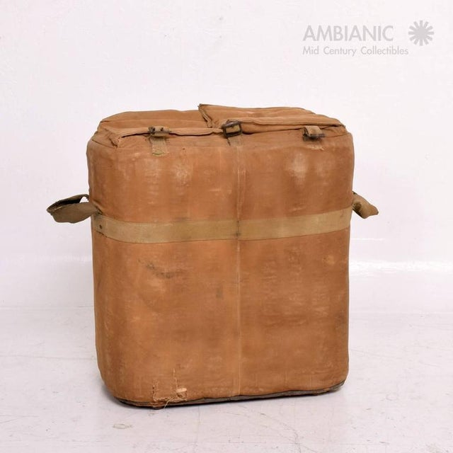 For your consideration a vintage military ice chest in the original vintage condition. Great Industrial prop with great...