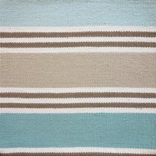 Schumacher Patterson Flynn Martin Bosun Stripe Hand Woven Wool Modern Rug Preview