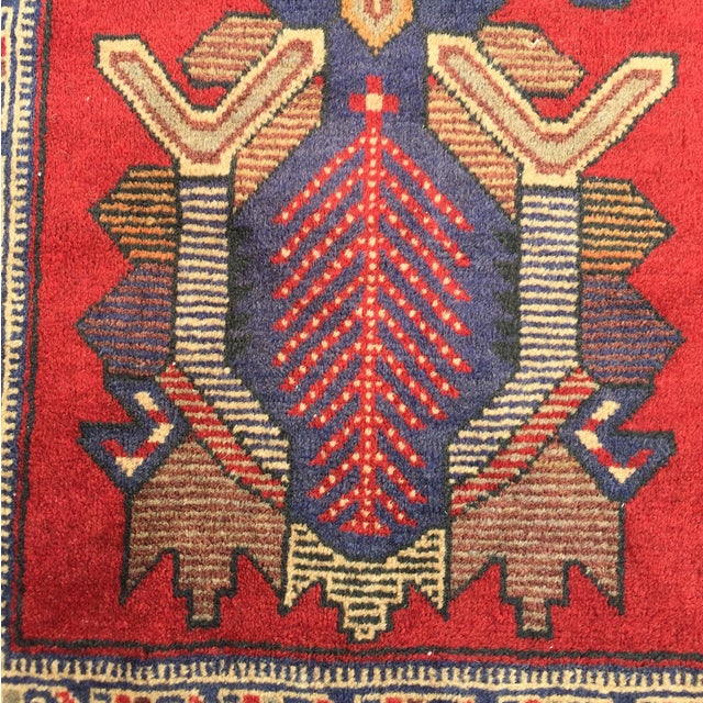 "Sumac Persian Rug 2'8"" x 4'3"" - Image 4 of 8"