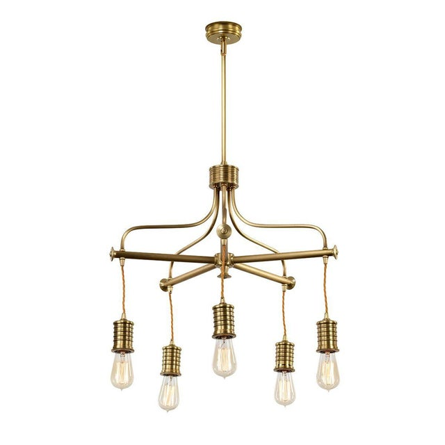Douille 5-Light Chandelier - Image 3 of 3
