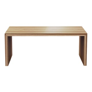 "Oi Studio Aura Dining Table 72"" Zebrawood"