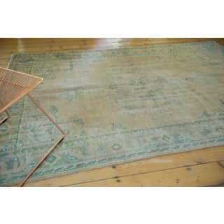 "Vintage Distressed Oushak Carpet - 5'8"" X 8'3"" Preview"