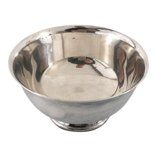 Vintage Gorham Mid-Century Silver Bowl For Sale