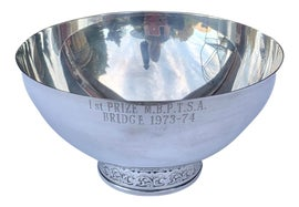Image of Silver Decorative Bowls