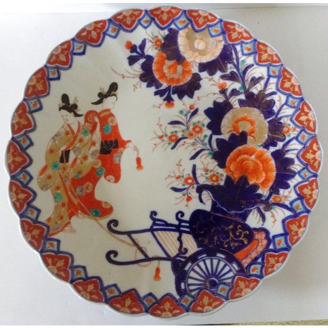 Colorful Japanese Imari Charger - Image 2 of 3