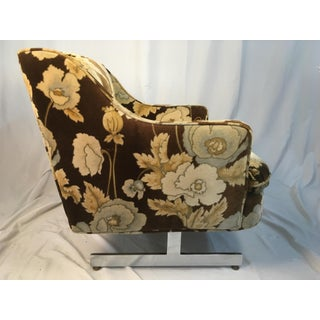 1960s Vintage Velvet Chair Preview