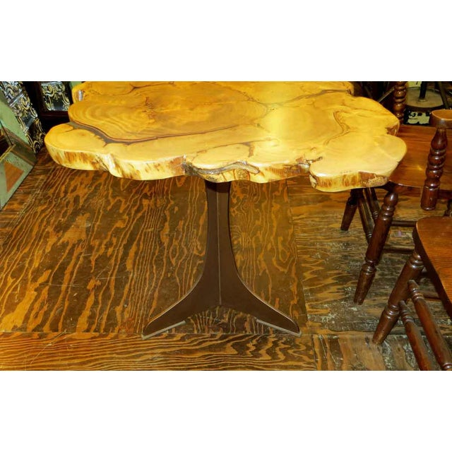 Customizable Book Matched Banyan Table - Image 3 of 6