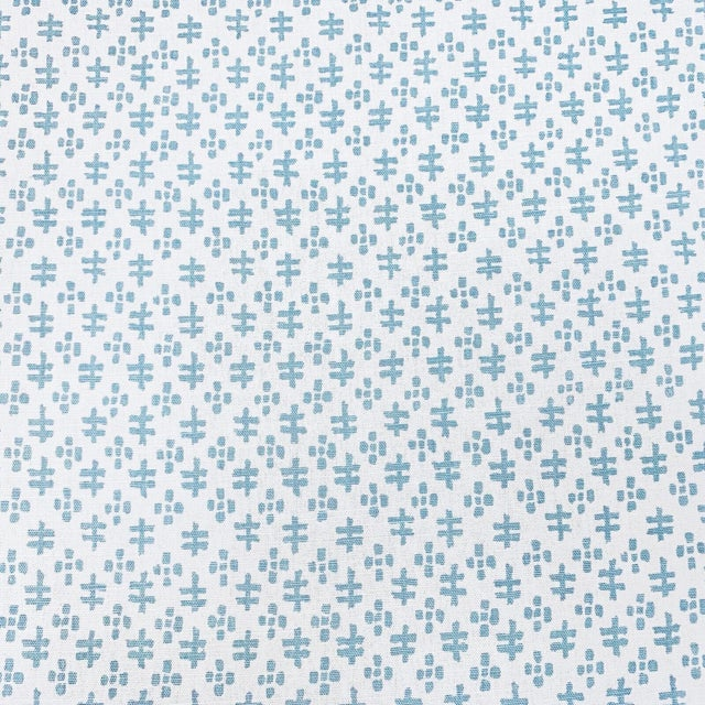 Contemporary Sister Parish Tucker Linen Designer Fabric by the Yard For Sale