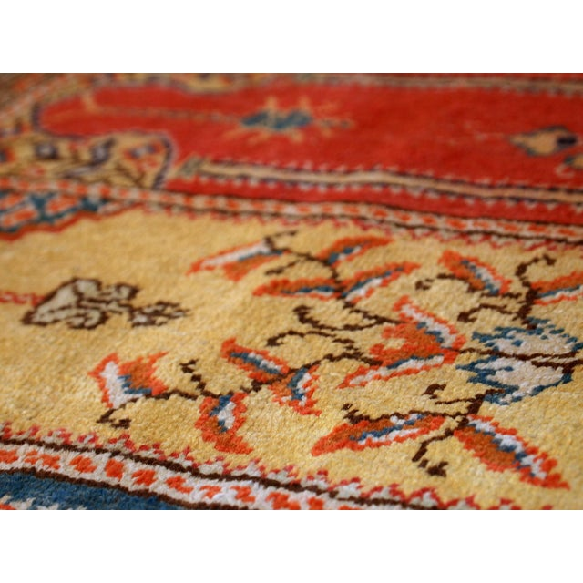 1960s Handmade Turkish Kayseri Runner - 2' X 5.6' - Image 7 of 10