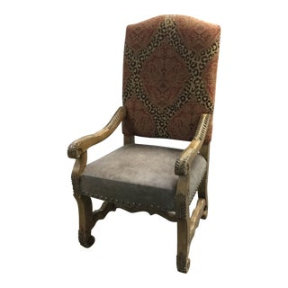Mid 20th Century French Renaissance Style Armchair