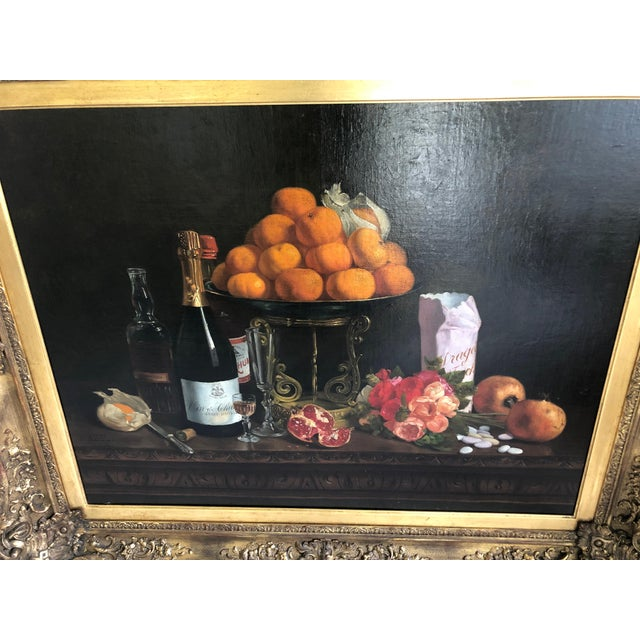 Realism Realist Still Life by Francois Abel For Sale - Image 3 of 13