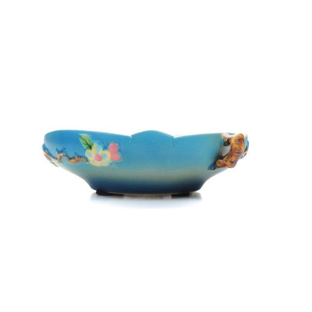 Antique Roseville Pottery Blue Bowl - Image 4 of 10