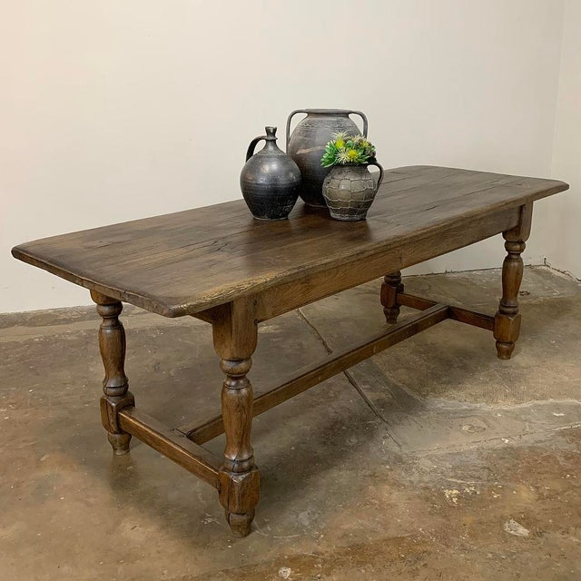 Farm Table, 19th Century Country French Oak For Sale - Image 11 of 12