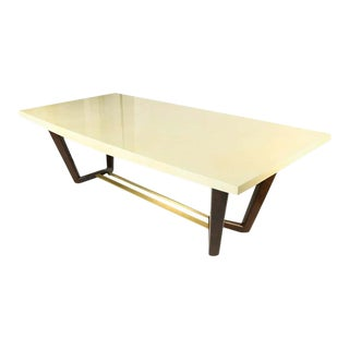 Hollywood Regency Style Dining or Conference Table by Lorin Marsh Design For Sale