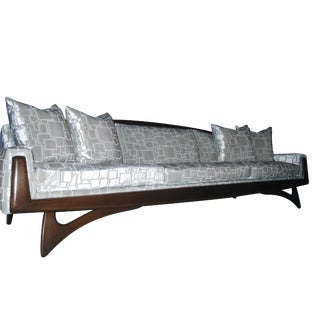 Adrian Pearsall Style Wing Sofa For Sale