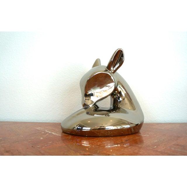 Vintage Jaru Silver Deer Statue - Image 3 of 8