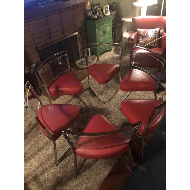 """These chairs were a """"garage find"""" while I was looking at something else at an estate sale in San Jose, Calif. They were..."""