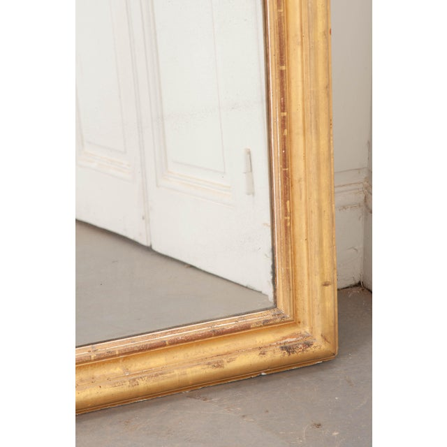French 19th Century Giltwood Louis Philippe Mirror For Sale - Image 4 of 9