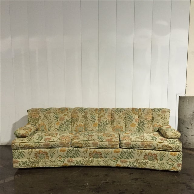 Incredible Vintage 60S Retro Floral Sofa Onthecornerstone Fun Painted Chair Ideas Images Onthecornerstoneorg
