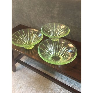 Waterford Sheridan Lead Crystal Bowls - Set of 3 Preview