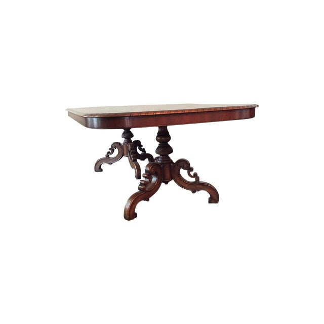 Alfonso Marina Solid Walnut Dining Table - Image 1 of 7