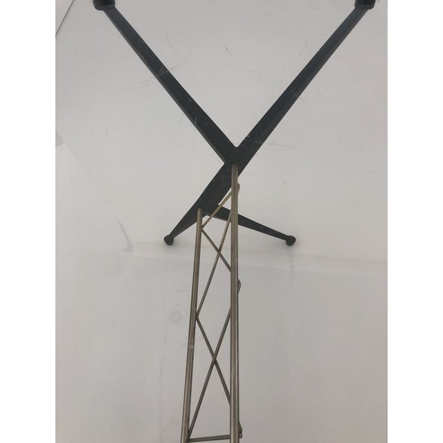 Metal Sculptural Occasional Table by Ico Parisi For Sale - Image 7 of 9