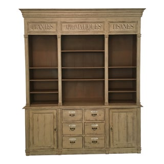 Provence Et Fils French Country Style Buffet / Display Cabinet For Sale