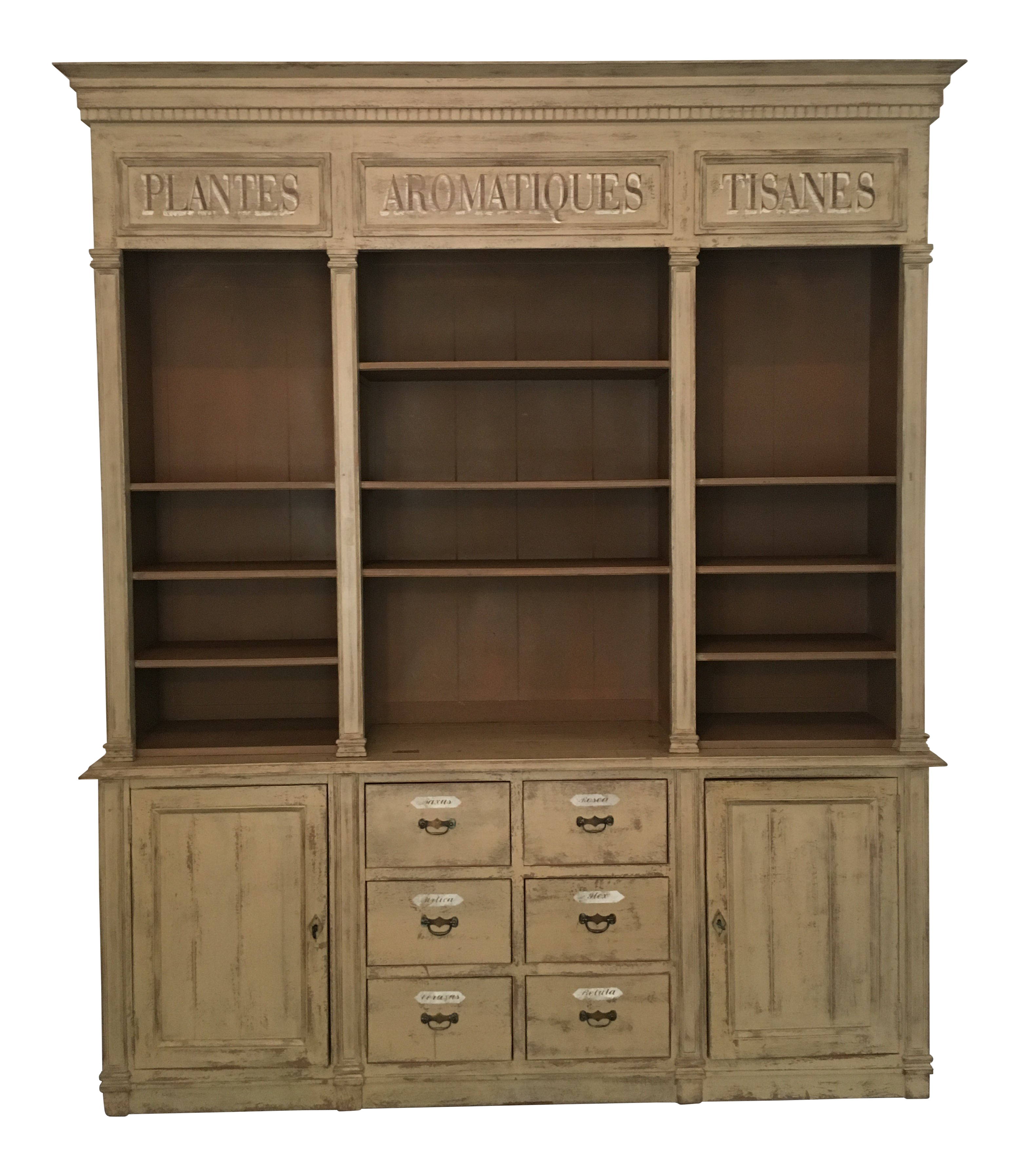 Provence Et Fils French Country Style Buffet / Display Cabinet