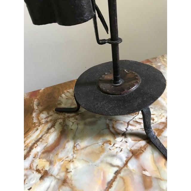 3f68fae81dee Late 18th Century Antique Iron Betty Oil Lamp
