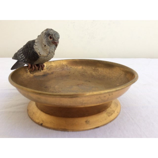 Boho Chic Vienna Bronze Pigeon For Sale - Image 3 of 5