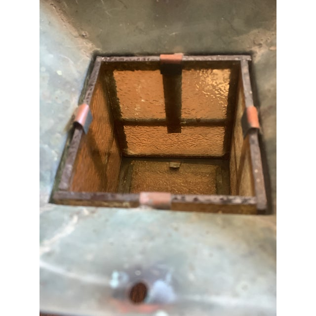 1920s Outdoor Copper Sconce For Sale - Image 6 of 7