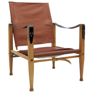 Kaare Klint for Rud. Rasmussen 1969 Safari Chair For Sale