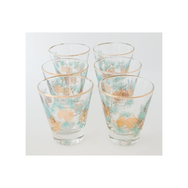 Set of 6 Pinecone Juice Glass by David Douglas for Libbey - Image 5 of 6