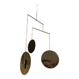 Metallic Patina Discs Mobile For Sale
