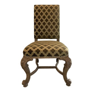 Modern Traditional Style Dining Chair For Sale