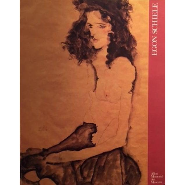 1989 Egon Schiele American Exhibition Poster - Image 2 of 4