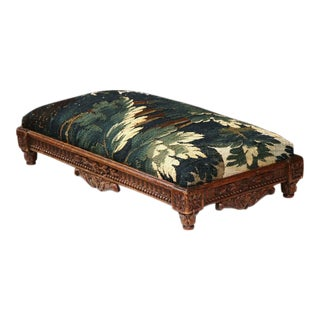 Mid-19th Century French Louis XVI Carved Footstool