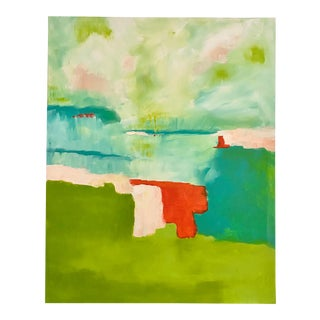 Untitled Abstract Painting by Jennifer Hopkins Wilcox For Sale