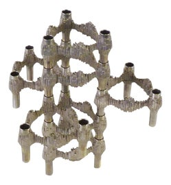 Image of Chrome Candle Holders