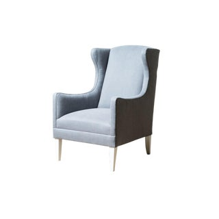 Modern Gisele Wing Chair For Sale