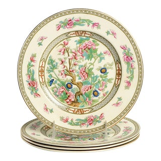 Crown Ducal Indian Tree Luncheon Plate - Set of 4 For Sale