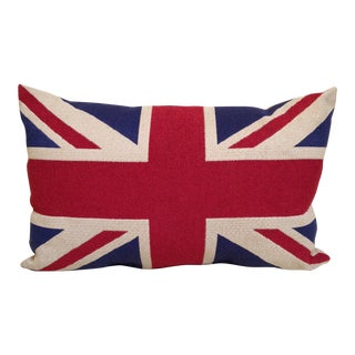 Union Jack Flag Bolster a Pillow For Sale