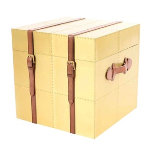 Brass Storage Chest For Sale