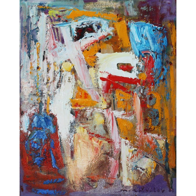 Abstract Oil by Murat Kaboulov - Image 1 of 2