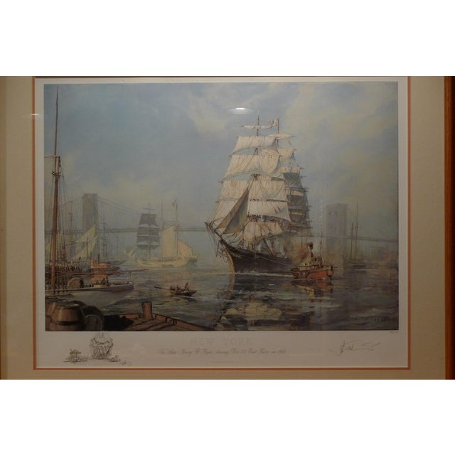 "John Stobart ""New York, Henry B. Hyde"" Limited Edition Print - Image 3 of 5"